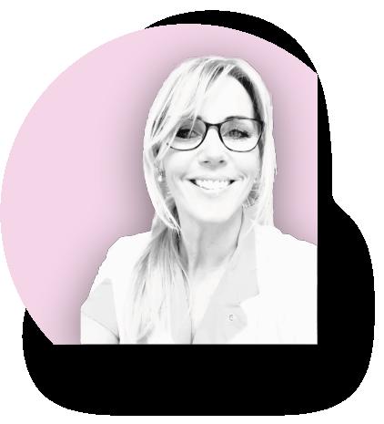 Profielfoto met roze achtergrond